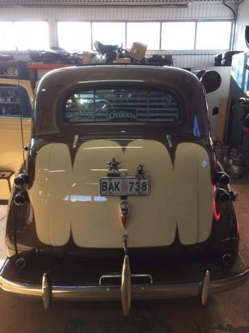 1936-1939 Sedan (Chevy / Pontiac) rear venetian blinds