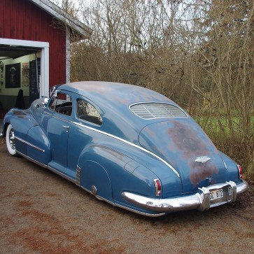 1940-1948 Fleetline Aero/Torpedo (Chevy / Pontiac) rear venetian blinds