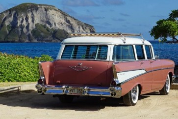 1955-1957 Chevy wagon rear window venetian blinds