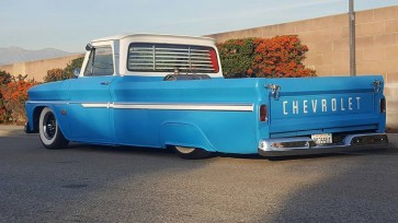 1960-1966 Chevy truck big window rear venetian blinds
