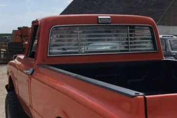 1967-1972 Chevy truck rear window venetian blinds