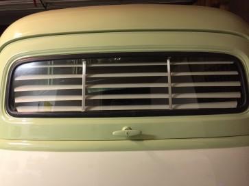 1949-1954 Suburban clam shell (Chevy / GMC) rear venetian blinds