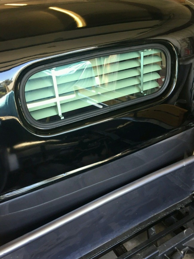1940 1946 chevy truck rear venetian blinds for 1940s window treatments