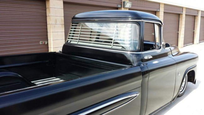 1955 1959 Chevy Truck Big Window Rear Venetian Blinds
