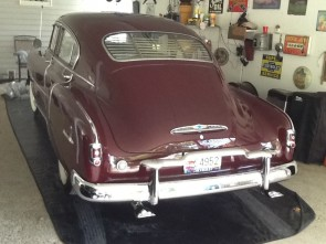 1949-1952 Fleetline/Torpedo (Chevy/Pontiac) rear venetian blinds