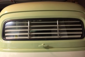 1949-1954 Suburban clam shell (Chevy / GMC) rear venetian blinds