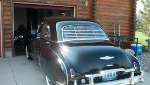 1949-1952 Sedan (Chevy/Pontiac) rear venetian blinds