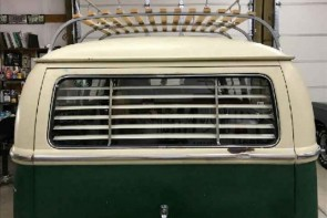 1950-1979 VW bus rear window venetian blinds