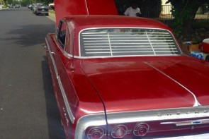 1962-1964 Chevy Impala rear venetian blinds