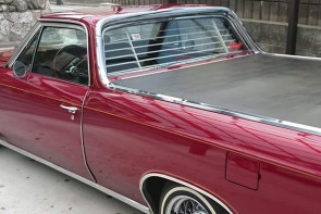 1964-1967 Chevy El Camino rear window venetian blinds