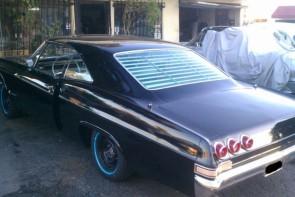 1965-1968 Chevy Impala rear venetian blinds